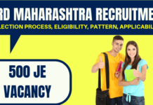 WRD Maharashtra Recruitment