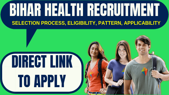 Bihar Health Recruitment