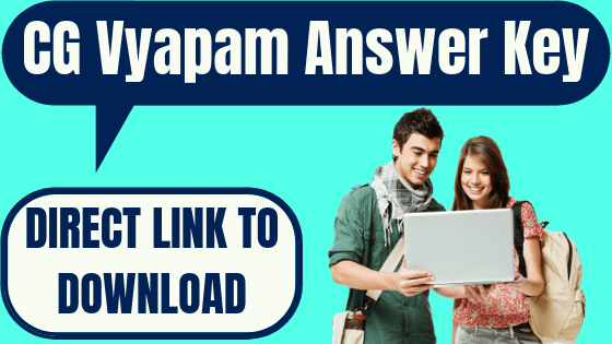 CG Vyapam Answer Key
