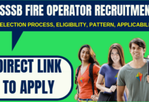 DSSSB Fire Operator Recruitment