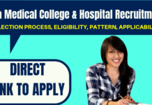 Goa Medical College Recruitment