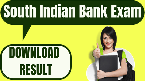South Indian Bank Legal Officer Result