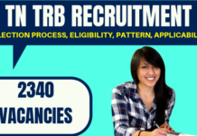 TRB TN Recruitment