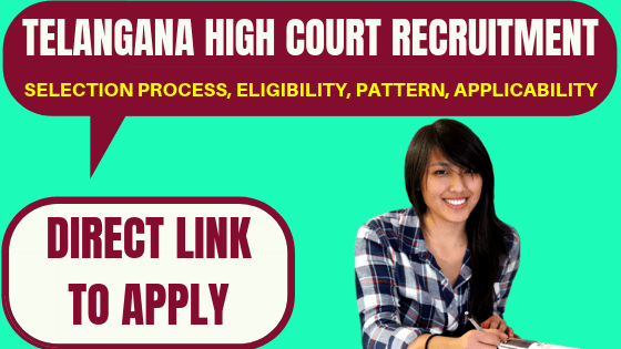 Telangana High Court Recruitment