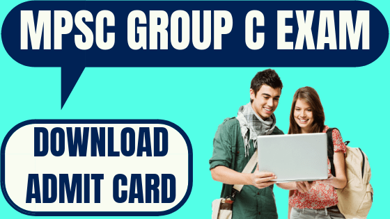 MPSC Group C Admit Card