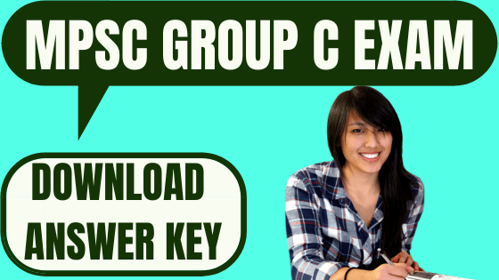 MPSC Group C Answer Key