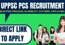 UPPSC PCS Recruitment