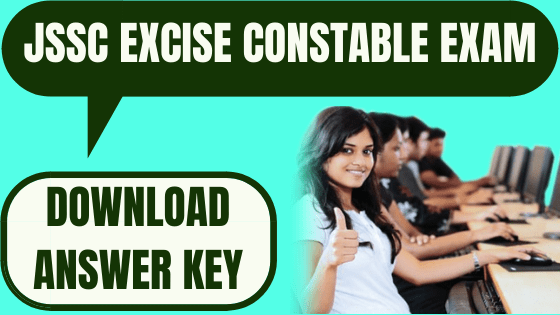 JSSC Excise Constable Answer Key