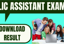LIC Assistant Result