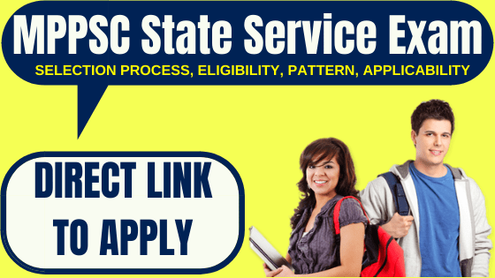 MPPSC State Service Exam