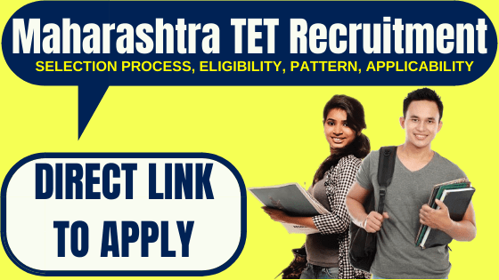 Maharashtra TET Recruitment