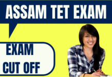 Assam TET Cut Off