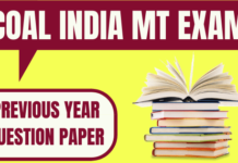 CIL Management Trainee Previous Year Paper