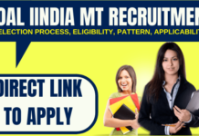 Coal India MT Recruitment