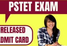 PSTET Admit Card