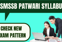 RSMSSB Patwari Syllabus and Exam Pattern