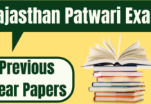 Rajasthan Patwari Previous Year Papers