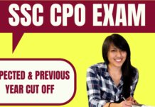 SSC CPO Cut Off