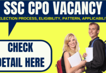SSC CPO Vacancy