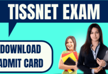 TISSNET Admit Card