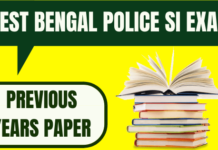 WB Police SI Previous Year Papers