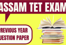 Assam TET Previous Year Papers