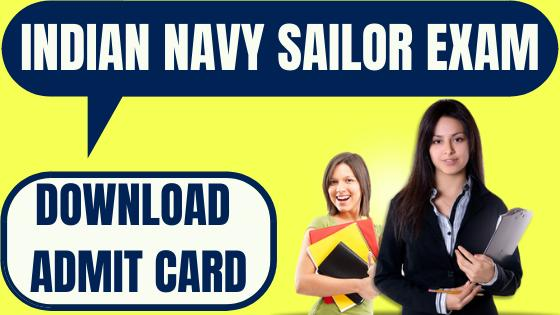 Indian Navy SSR Admit Card