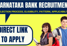 Karnataka Bank Recruitment 2020 – Apply Online for Probationary Officer Posts