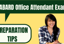 NABARD Office Attendant Preparation