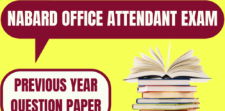 NABARD Office Attendant Previous Year Question Papers