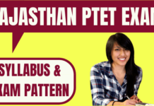 Rajasthan PTET Exam Pattern and Syllabus 2020 - Exam Date (10 May),  Application Form, Books