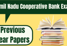 TNSC Bank Assistant Previous Papers