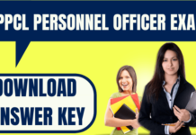 UPPCL Personnel Officer Answer Key
