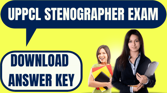 UPPCL Stenographer Answer Key