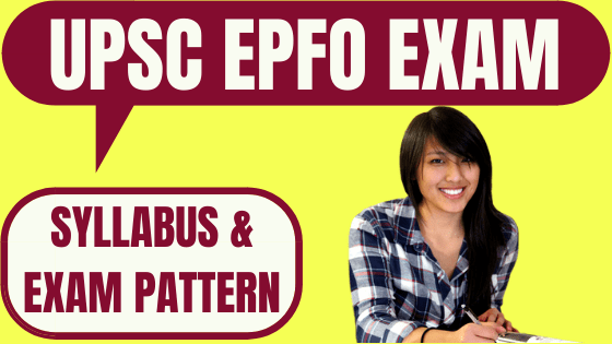 UPSC Enforcement Officer Syllabus and Exam Pattern