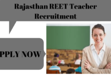 Rasjasthan REET Teacher Recruitment