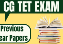 CG TET Previous Year Question Paper