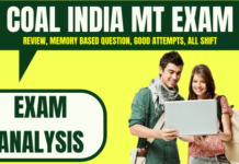 CIL MT Exam Analysis for CE