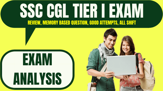 SSC CGL Exam Analysis 6th March