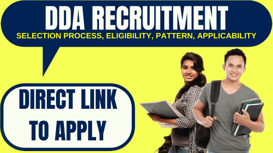 Delhi Development Authority Recruitment