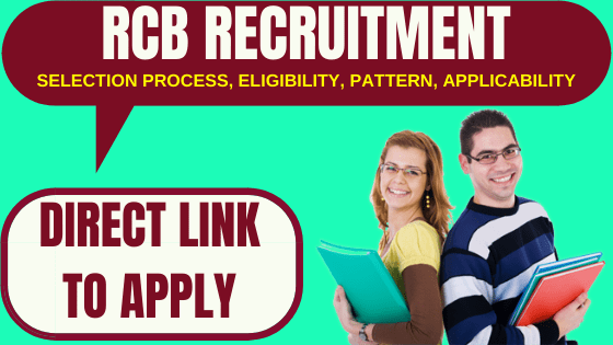 RCB Recruitment