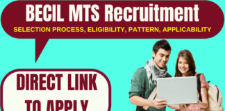 BECIL MTS Recruitment