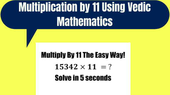 Multiplication by 11