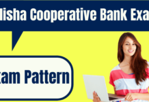 Odisha Cooperative Bank Exam Pattern
