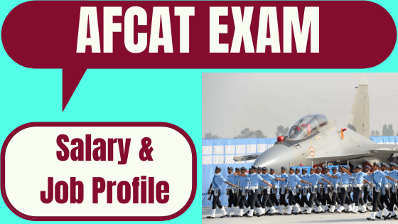 AFCAT Salary & Job Profile