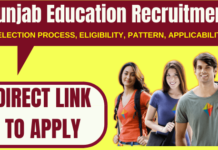 Punjab Education Recruitment