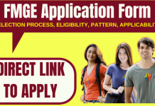 FMGE Application Form