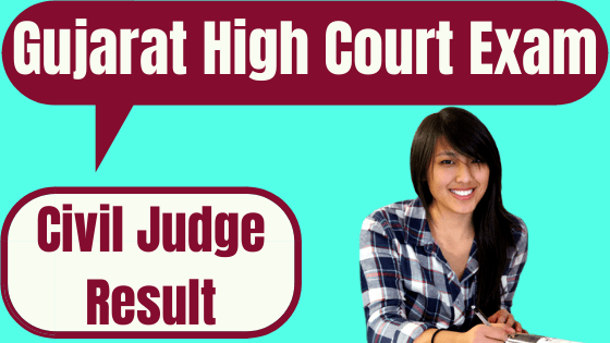 Gujarat High Court Civil Judge Result