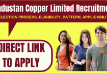 Hindustan Copper Limited Recruitment