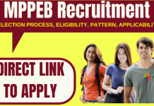 MPPEB Recruitment